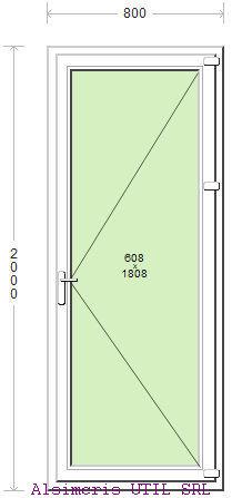 Usa Balcon 80 / 200 cm